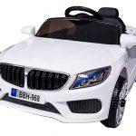 Obrazek produktu Auto Na Akumulator M55 Biały 2xSilnik+Pilot 2.4G+Muzyka