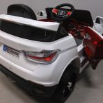 Obrazek produktu Cabrio B12 biały autko na akumulator, miękkie koła Eva