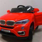 Obrazek produktu Cabrio B12 czerwony autko na akumulator, miękkie koła Eva