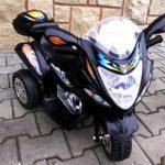 Obrazek produktu Motorek M1 czarny, motorek na akumulator