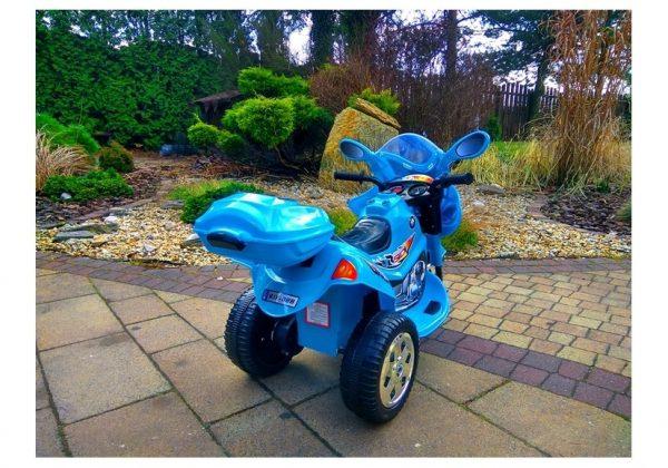 Obrazek produktu Motorek M1 niebieski, motorek na akumulator