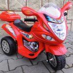 Obrazek produktu Motorek M1 czerwony, motorek na akumulator