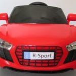 Obrazek produktu Cabrio AA4 czerwony, autko na akumulator, funkcja bujania