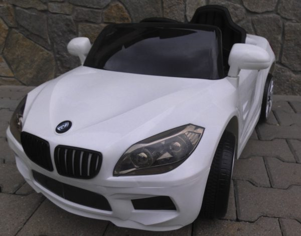 Obrazek produktu Cabrio B14 biały autko na akumulator