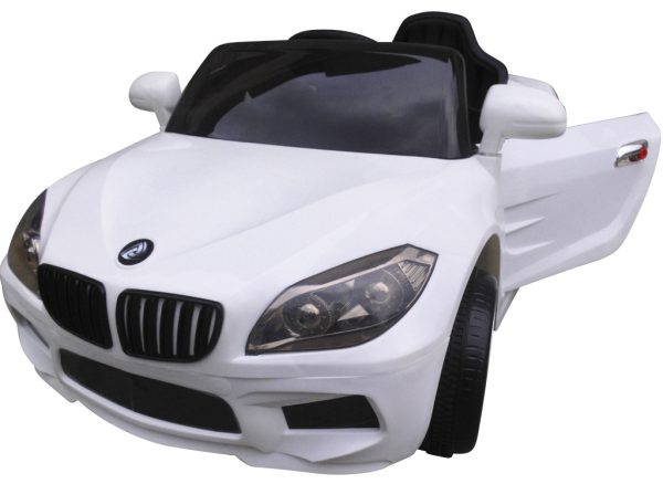 Cabrio B14 biały autko na akumulator