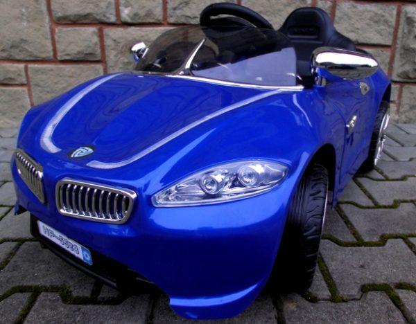 Obrazek produktu Cabrio B3 niebieski, Autko na akumulator, zdalnie sterowane