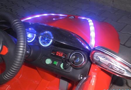 Obrazek produktu Cabrio B3 Czerwony, Auto na akumulator