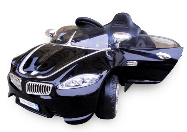 Cabrio B3 czarny, Auto na akumulator
