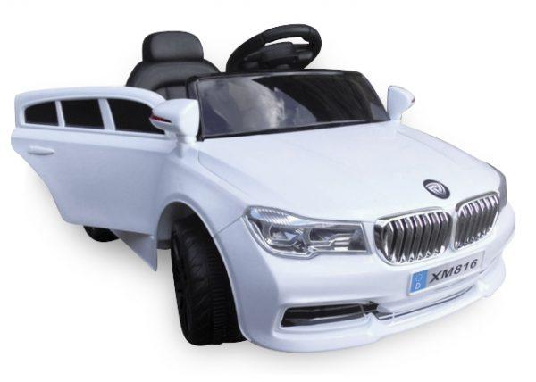 Cabrio B4 biały Samochód na akumulator, Pojazd