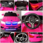 Obrazek produktu Cabrio B6 różowy,  Miękkie koła Eva, Autko na akumulator