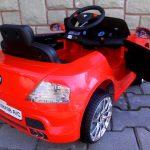 Obrazek produktu Cabrio B7 czerwony Autko dla dzieci na akumulator