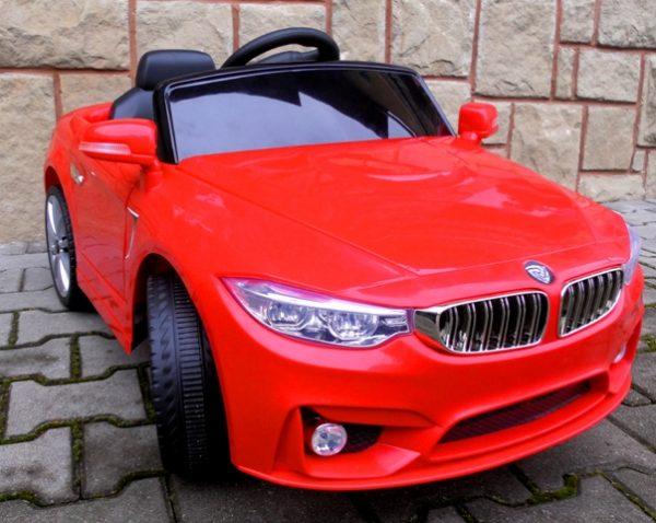 Obrazek produktu Cabrio B8 czerwony, Autko na akumulator, zdalnie sterowane