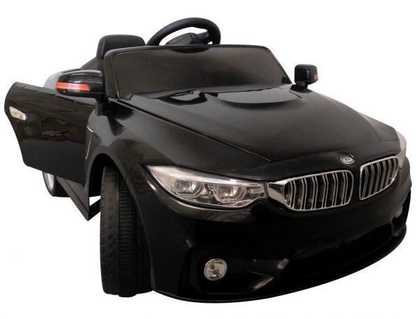 Cabrio B8 czarny Autko na akumulator, zdalnie sterowane