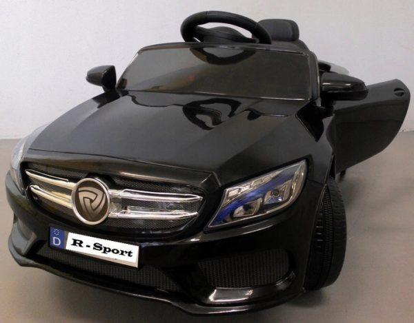 Cabrio M4 czarny autko na akumulator,