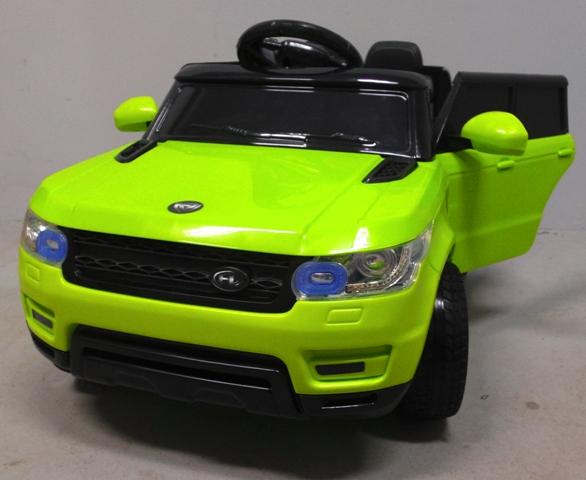 Obrazek produktu Cabrio F1 zielony autko na akumulator, miękkie koła Eva