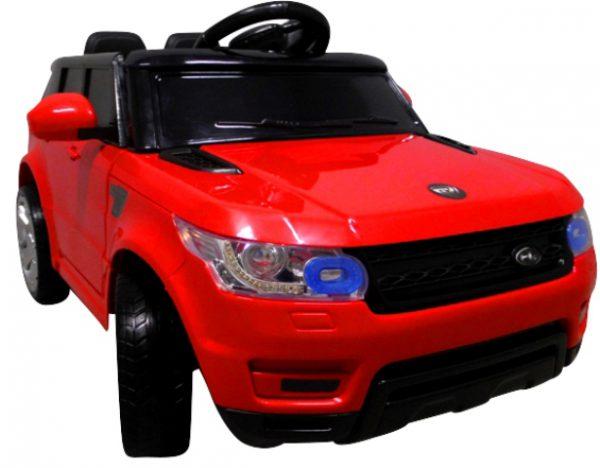 Cabrio F1 czerwony autko na akumulator, miękkie koła Eva