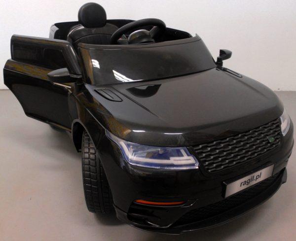Obrazek produktu Cabrio F4 czarny, autko na akumulator, miękkie koła Eva