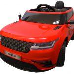 Obrazek produktu Cabrio F4 czerwony, autko na akumulator, miękkie koła Eva