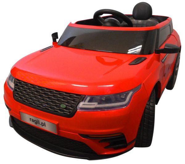 Cabrio F4 czerwony, autko na akumulator, miękkie koła Eva