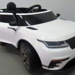 Obrazek produktu Cabrio F4 biały, autko na akumulator, miękkie koła Eva