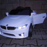 Obrazek produktu Cabrio B8 biały Autko na akumulator, zdalnie sterowane