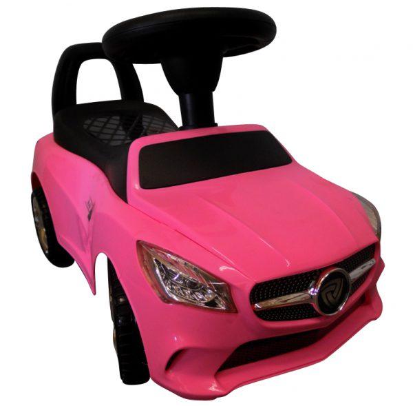 Obrazek produktu Jeździk J2 Różowy Jeździk, chodzik muzyka, klakson światła
