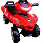 Jeździk Quad J5 czerwony, chodzik, muzyka, klakson Jeździk Quad J5 czerwony, chodzik, muzyka, klakson