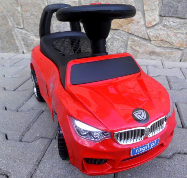 Obrazek produktu Jeździk J6 czerwony Jeździk, chodzik muzyka, klakson światła