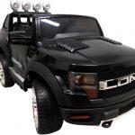 Obrazek produktu Cabrio LONG czarny, miękkie koła Eva, Duże Autko Na Akumulator