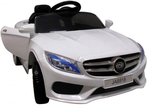 Cabrio M4 biały autko na akumulator,