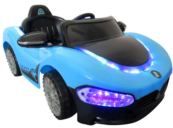 Cabrio Ma niebieski, Pojazd na akumulator