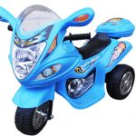 Motorek M1 niebieski, motorek na akumulator Motorek M1 niebieski, motorek na akumulator