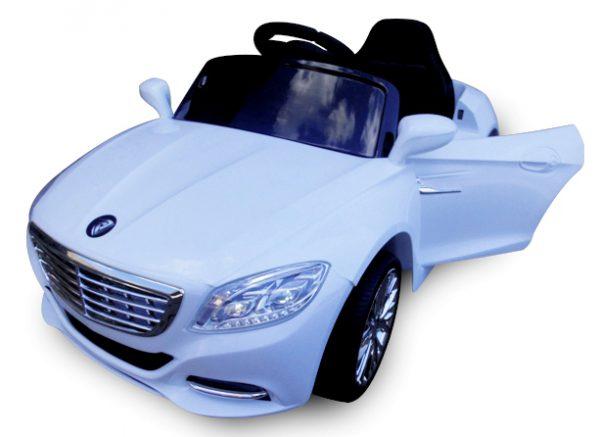 Cabrio S1 biały, Samochodzik dziecięcy zdalnie sterowany Cabrio S1 biały, Samochodzik dziecięcy zdalnie sterowany