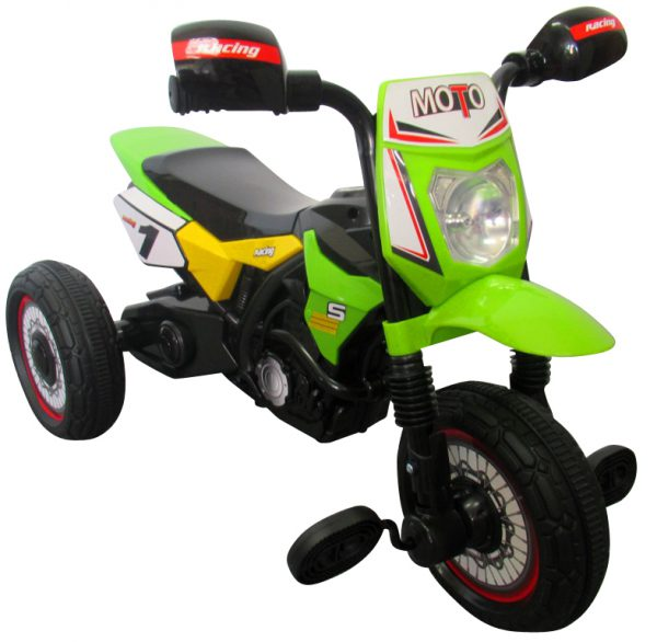 Obrazek produktu Motorek M5 zielony, motorek rowerek trójkołowy