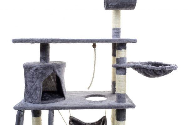 Obrazek produktu Drapak dla kota z hamakiem szary
