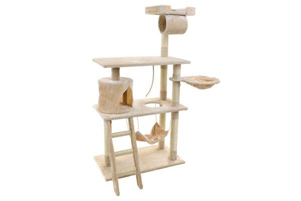 Obrazek produktu Drapak dla kota z hamakiem Beżowy
