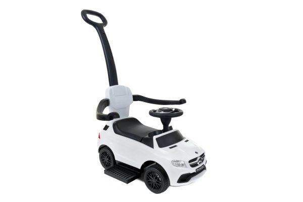 Jeździk 3w1, pchacz dla dzieci MERCEDES GLE63 Biały