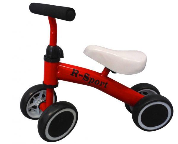 Obrazek produktu Rowerek biegowy R11 czerwony R-Sport, jeździk