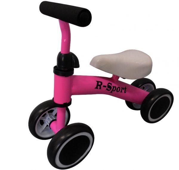 Rowerek biegowy R11 różowy R-Sport, jeździk