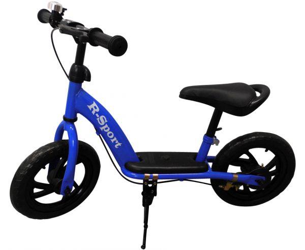 """Obrazek produktu Rowerek biegowy niebieski R5 R-Sport Koła EVA 12"""" hamulec, dzwonek"""