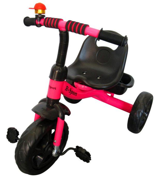 Obrazek produktu Rowerek Trójkołowy T1 różowy Koła EVA