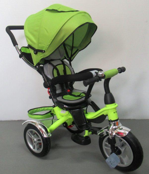Obrazek produktu Rowerek Trójkołowy T3 zielony R-Sport  Koła pompowane