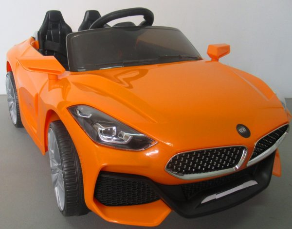 Obrazek produktu Cabrio Z4 pomarańczowy, autko na akumulator, funkcja bujania