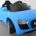 Obrazek produktu Cabrio AA4 niebieski, autko na akumulator, funkcja bujania