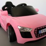 Obrazek produktu Cabrio AA4 różowy, autko na akumulator, funkcja bujania