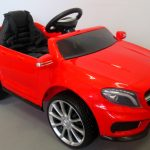 Obrazek produktu Mercedes GLA45 Czerwony, Autko na Akumulator, Miękkie koła Eva, miękki fotelik, Licencja