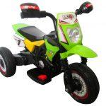 Obrazek produktu Motorek Cross zielony, motorek na akumulator dla dzieci