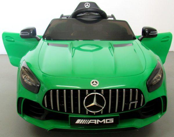 Obrazek produktu Mercedes GTR Zielony Auto Na Akumulator Miękkie koła Eva, miękki fotelik, Licencja