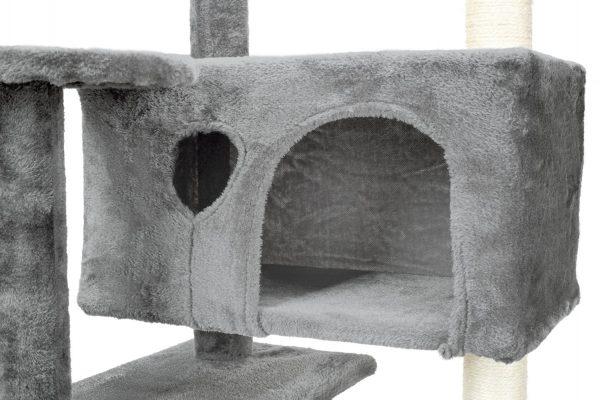 Obrazek produktu Drapak dla kota 7 poziomów Szary