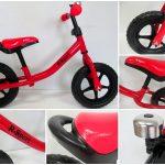 Obrazek produktu Rowerek biegowy R1 czerwony R-Sport Miękkie Koła EVA dzwonek
